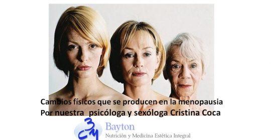Cambios fisicos en la menopausia
