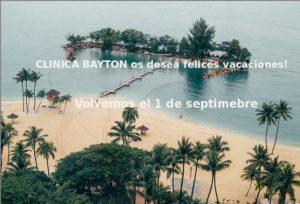 periodo de vaciones en clinica bayton 2017