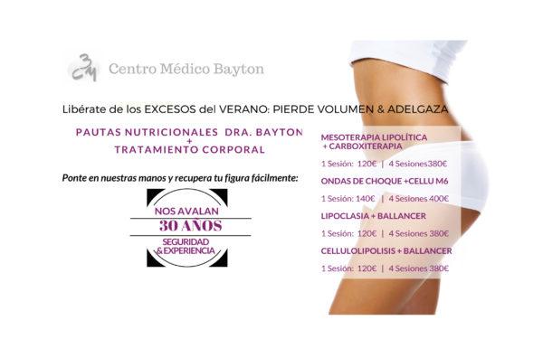 Promocion tratamiento cuerpo septiembre 2017