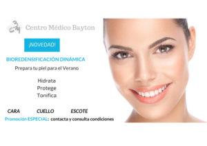 Promocion tratamiento estetico cara en Junio - Clinica Bayton