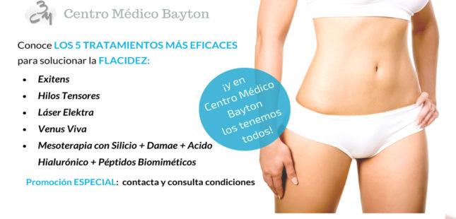 Promocion tratamiento estetico cuerpo en Junio - Clinica Bayton