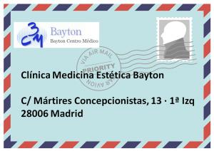 Dirección-Clinica-Estetica-Bayton-Madrid