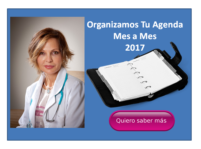 Organizamos tu agenda estetica mes a mes 2017