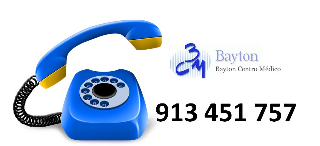 Telefono-clinica-estetica-Bayton-Madrid