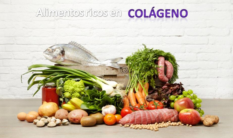 carnes pescados huevos y otros alimentos ricos en colageno