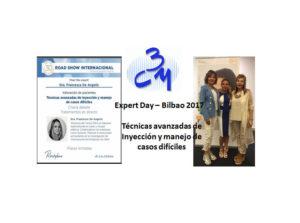 Cartel- Meet expert Bilbao 2017 - Clinica Bayton