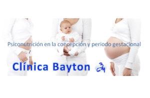 psiconutricion en concepto y periodo gestacional - clinica Bayton