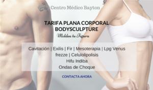 Tratamientos corporales en Promocion Abril 2019