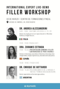 Wrokshop dr. Alessandrini - Dra. Bayton - cartel
