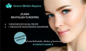 Promocion Tratamientos faciales en Junio 2019 - Clinica Bayton Madrid
