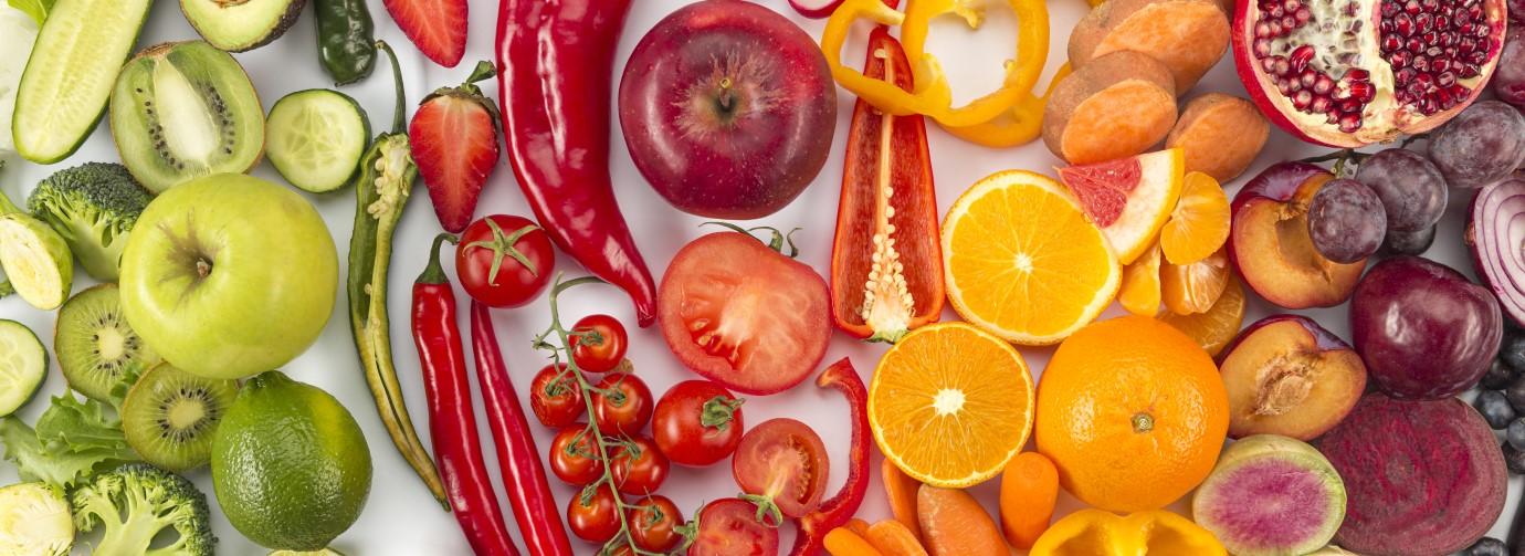 Alimentos frescos para celulitis
